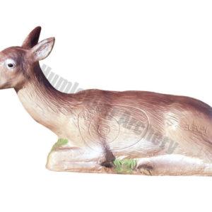Eleven Target 3D Bedded Deer Dark-0
