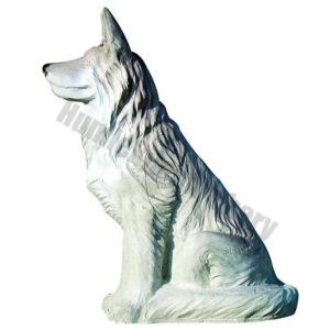 Eleven Target 3D Sitting Wolf-0