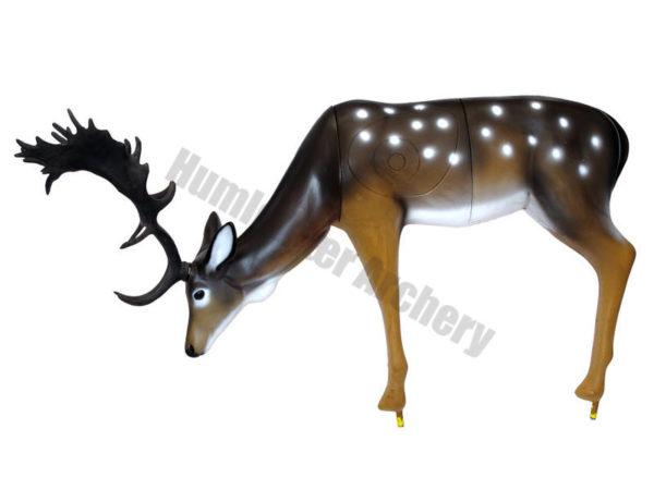 SRT Target 3D Fallow Deer Grazing -0