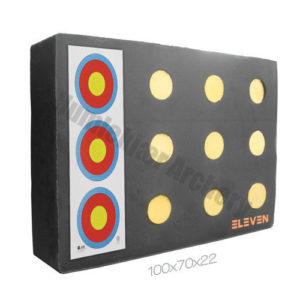 Eleven Plus Target Polyfoam 70 x 100 x 20 cm with 12 x 9,5 cm EZ-Pull Insert-0