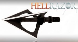 NAP Hellrazor Broadheads 3 stk Fixed Blades-0