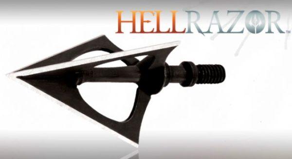NAP Hellrazor Broadheads 3 stk Fixed Blades-0