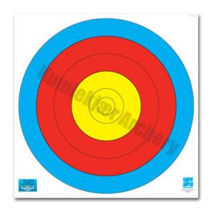 250 stk FITA 60cm 5-ring centre-0