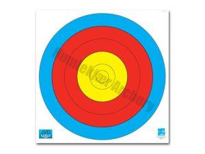 10 stk FITA 60cm 5-ring centre -0