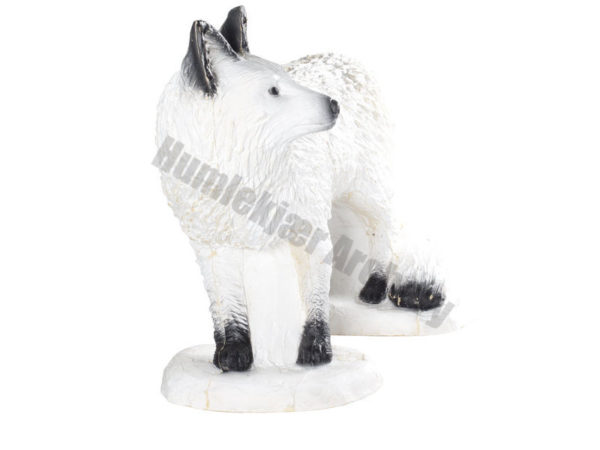SRT Target 3D Walking White Fox-4644