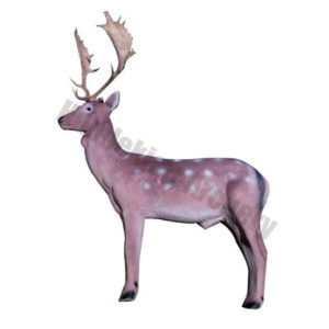 Eleven Target 3D Fallow Deer with Insert and Horns-0