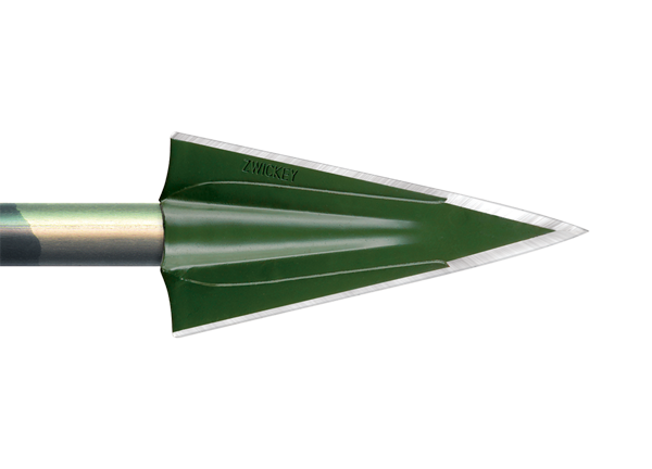 Zwickey NO MERCY 2 BLADE 3 pk 130 GR 11/32 TAPER HOLE -0