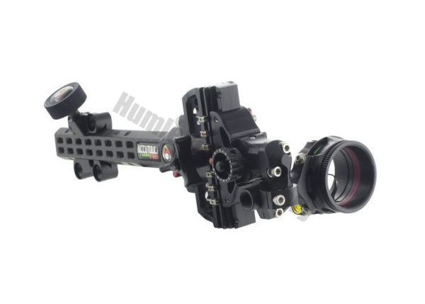 Axcel Sight AccuTouch Pro Slider Carbon with Scope Single Pin-0