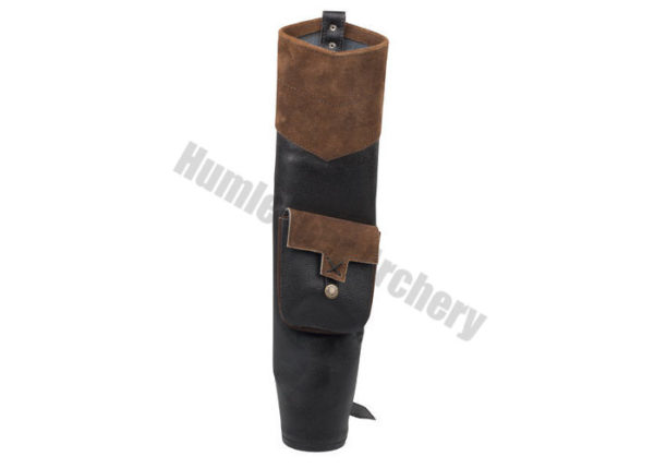 White Feather Back Quiver Earthquake Brown-0