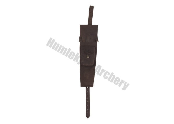 White Feather Back Quiver Hurricane Brown-0