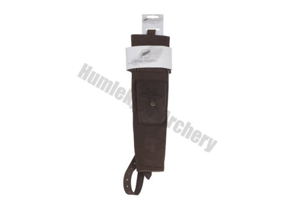 White Feather Back Quiver Hurricane Brown-6132