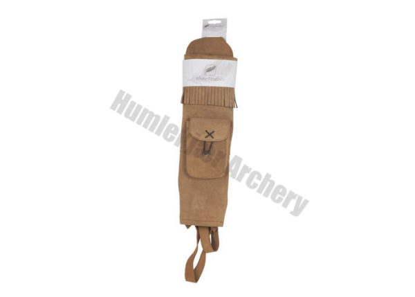 White Feather Back Quiver Water Brown-6141
