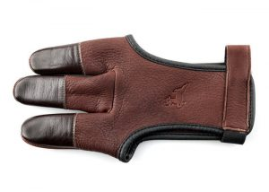 White Feather Shooting Glove Deerskin-0