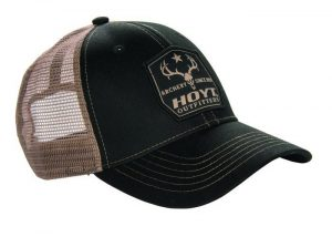 Hoyt Cap Outfitter Mesh Black -0