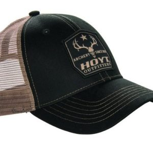 Hoyt Cap Outfitter Mesh Black -0