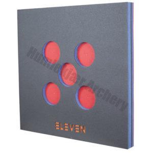 Eleven Larp Target 80 x 80 x 7 cm 5 Holes-0