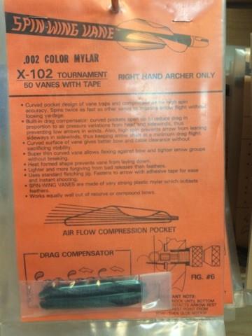 'Vintage' Spin-Wing vane-6969