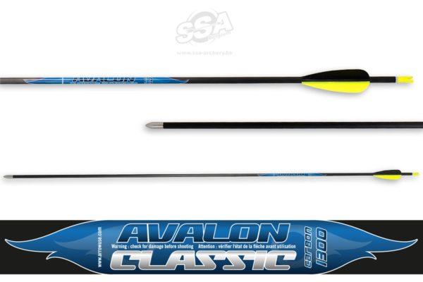 12 stk Avalon Classic komplette piler-0