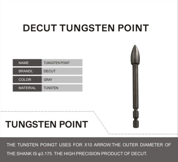 Decut Point Tungsten Elite-7154