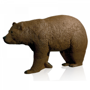 Delta McKenzie 3D Walking Brown Bear-7301
