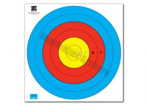 Target Face Fita Waterproof 80 cm Centre 6-Ring-0