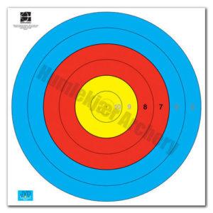 Target Face Fita Waterproof 80 cm Centre 6-Ring-0